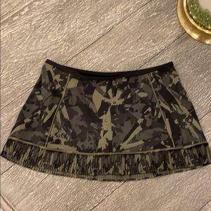 Lululemon Camo Skort Size 10